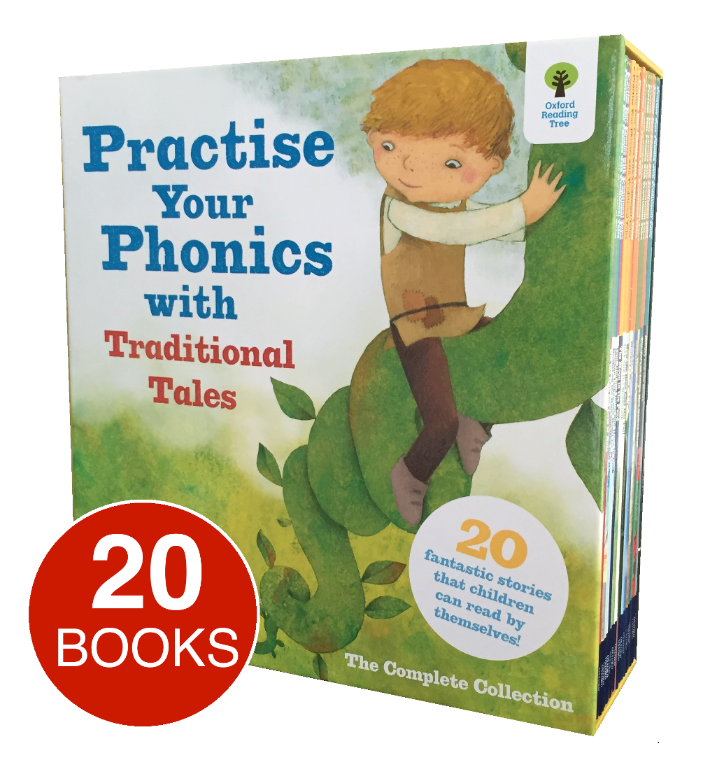 Workbooks oxford reading tree workbooks : Oxford Practice Your Phonics with Traditional Tales - English ...