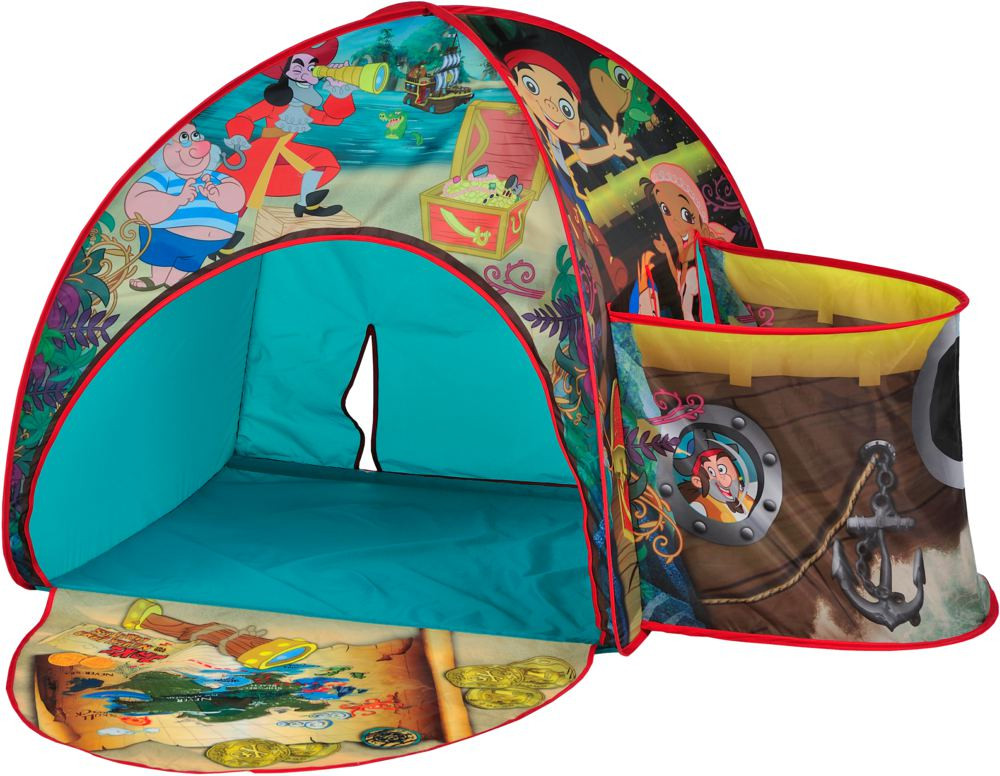 Disney - Jake u0026 the Neverland Pirates Pop Up Hideaway Tent  sc 1 st  Mumzworld & Jake u0026 the Neverland Pirates Pop Up Hideaway Tent