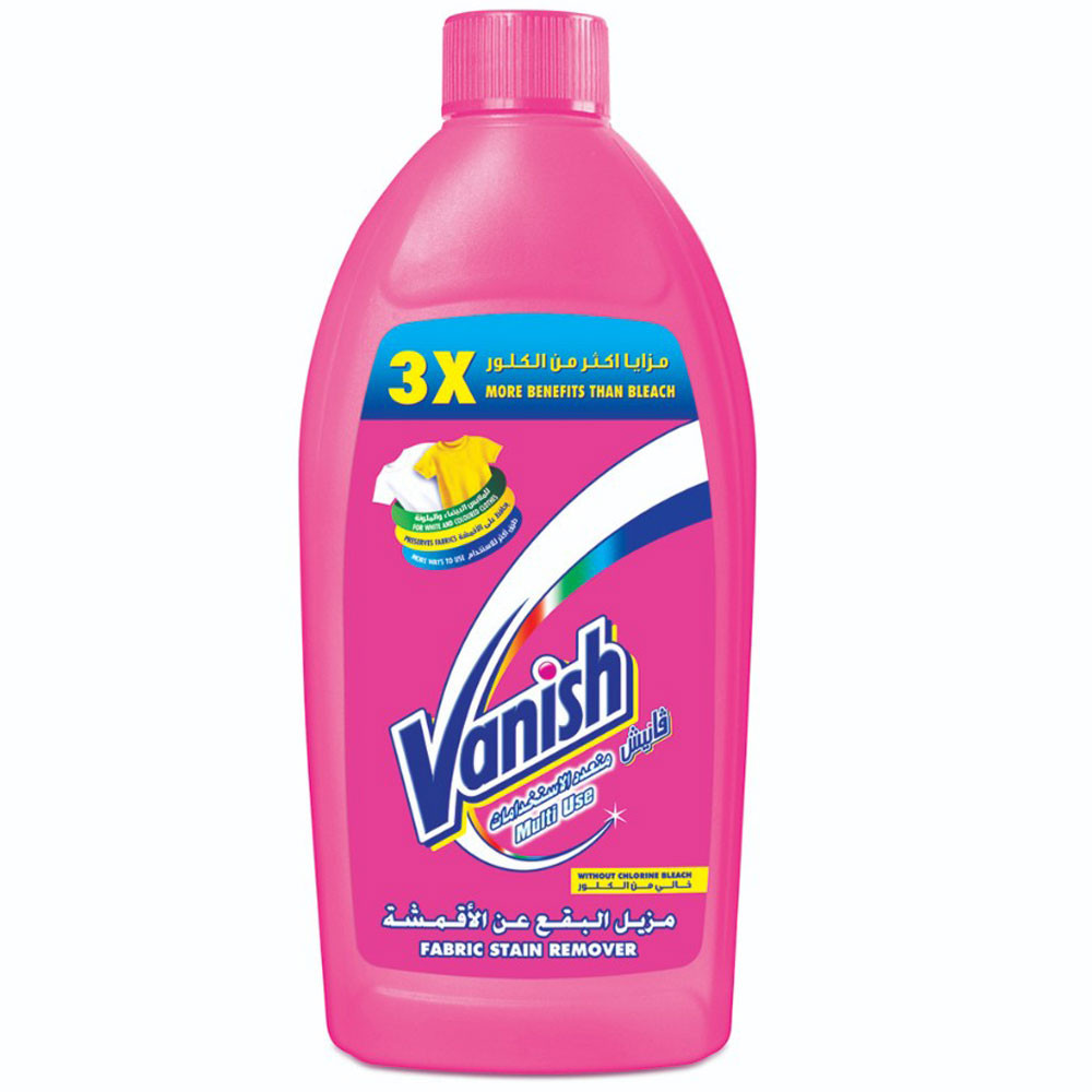 vanish stain remover multi use liquid colors whites 500ml