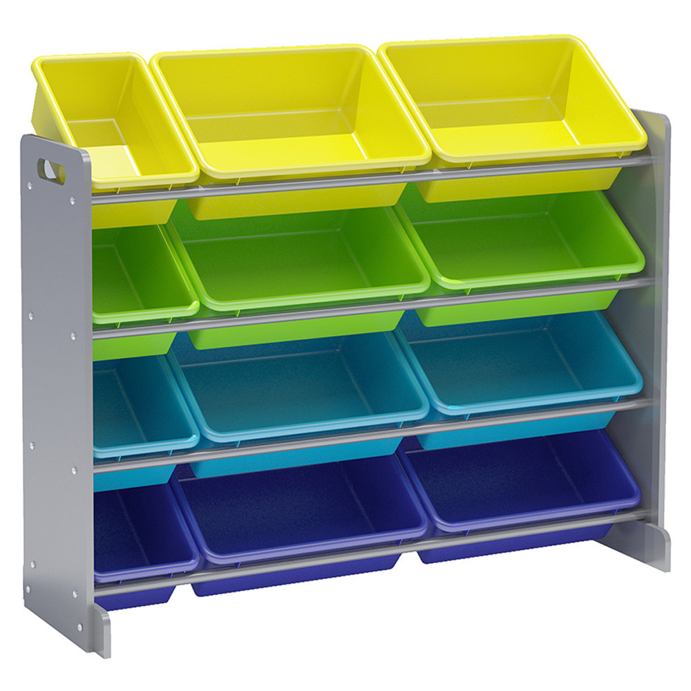 sc 1 st  Mumzworld & Class - Toy Storage Organizer With 12 Plastic Bins - Large