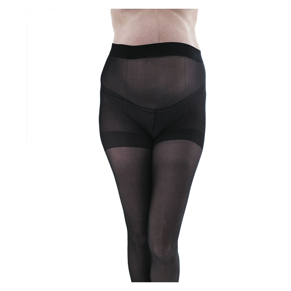 c6f9e6995c300 Fertile Mind SheerHose 15 Denier Maternity Tights 2 pack Black