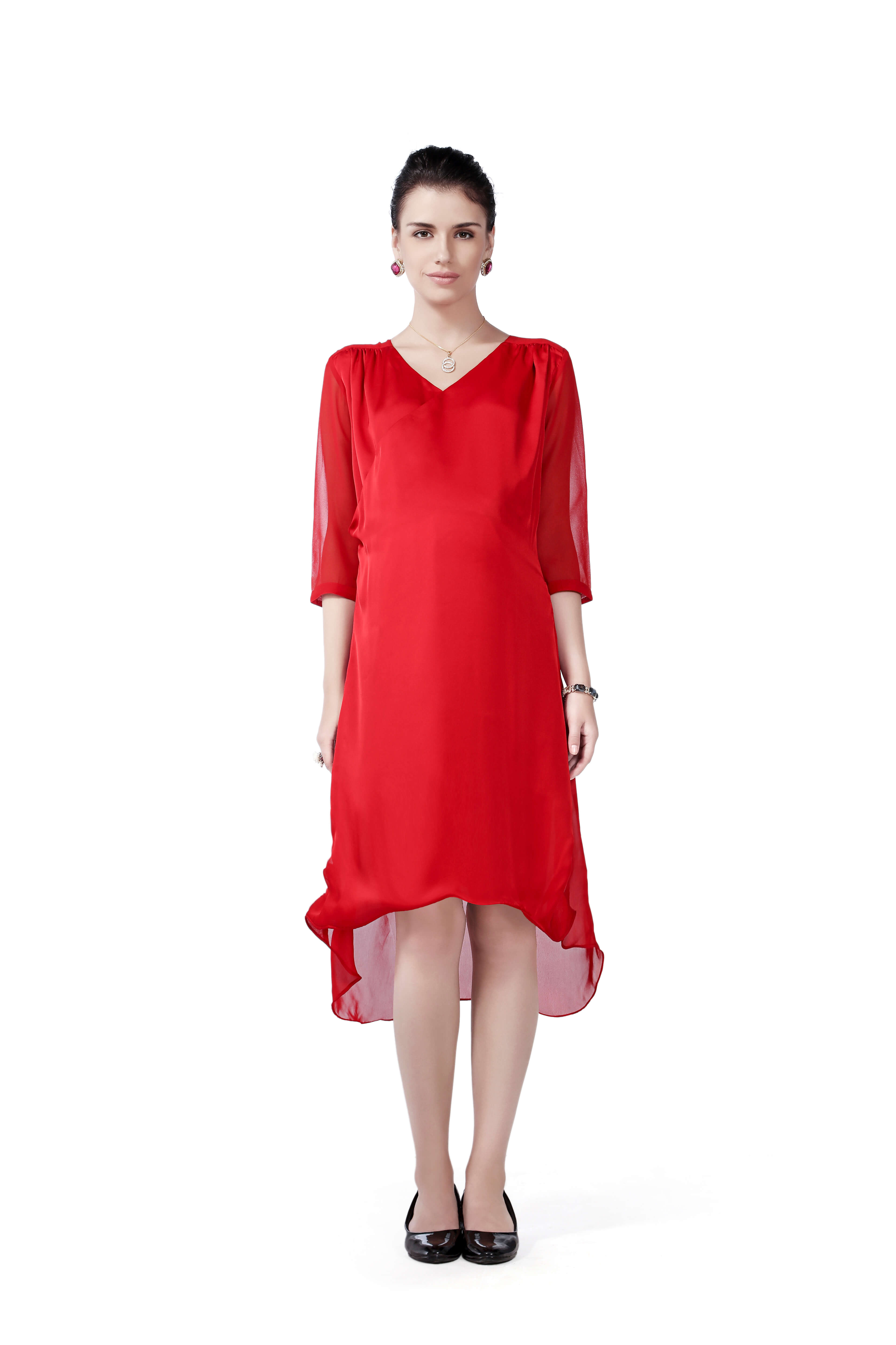 House of napius maternity dress red fashion mumz house of napius maternity dress red ombrellifo Images