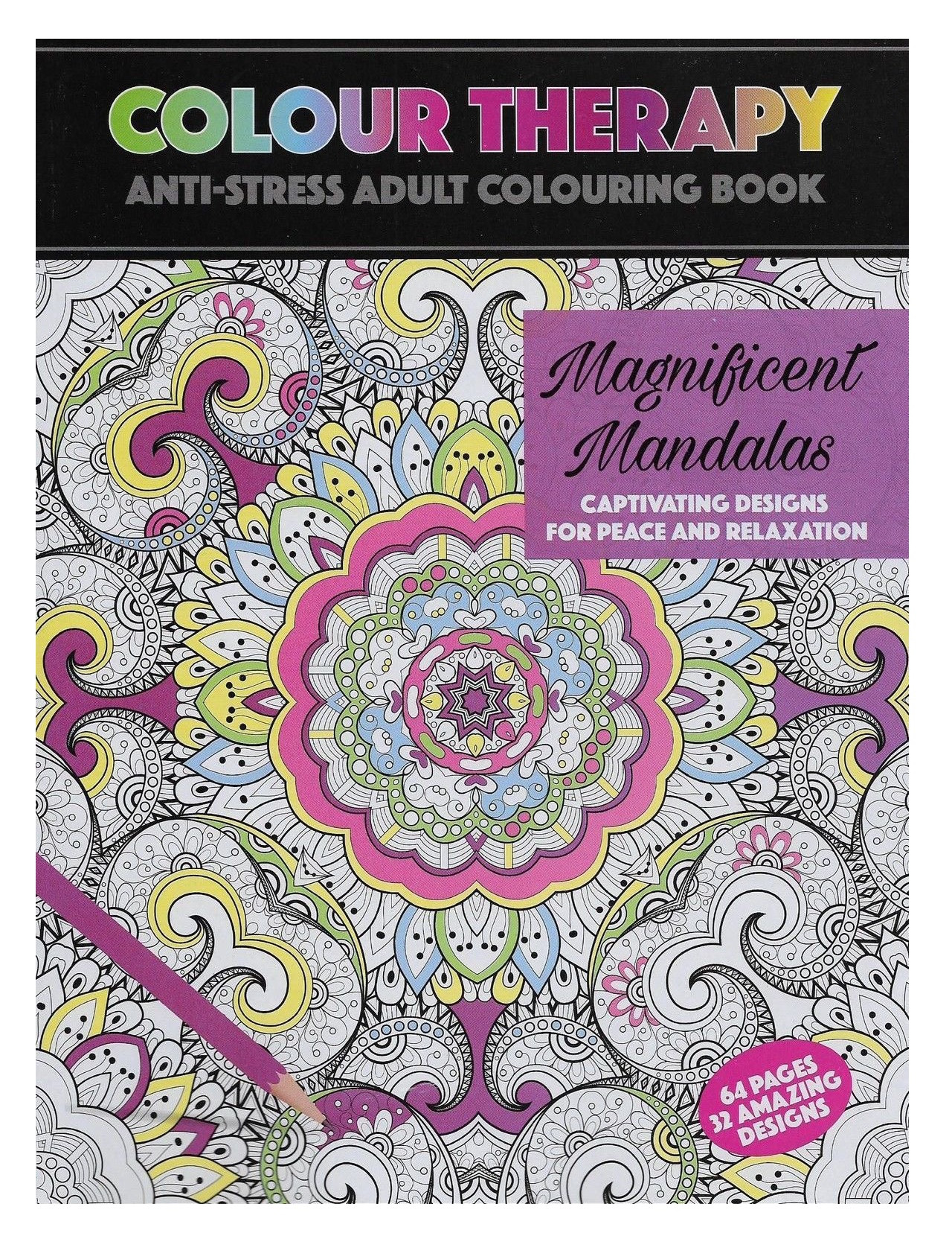 Magnificent Mandalas Colour Therapy