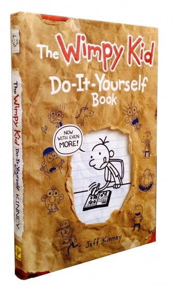 The diary of a wimpy kid do it yourself book solutioingenieria Images