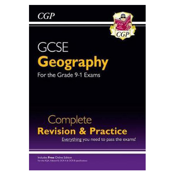 GCSE Geography Complete Revision Practice BookGrade 9 1