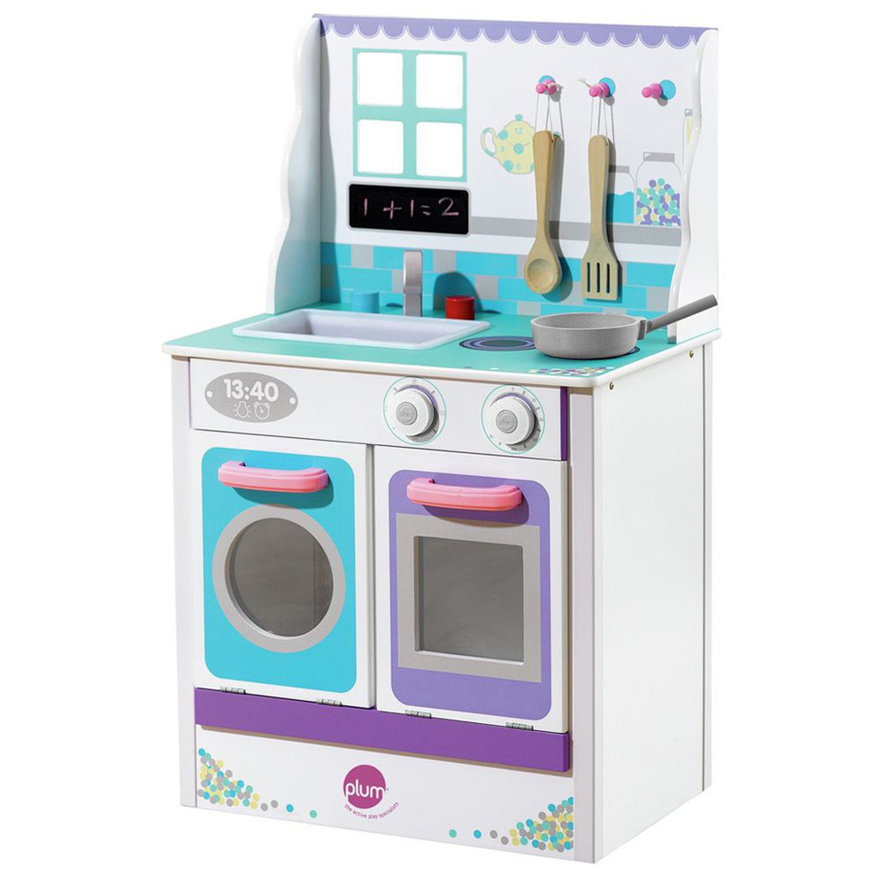 Plum - Cook-A-Lot Chive Kitchen Set