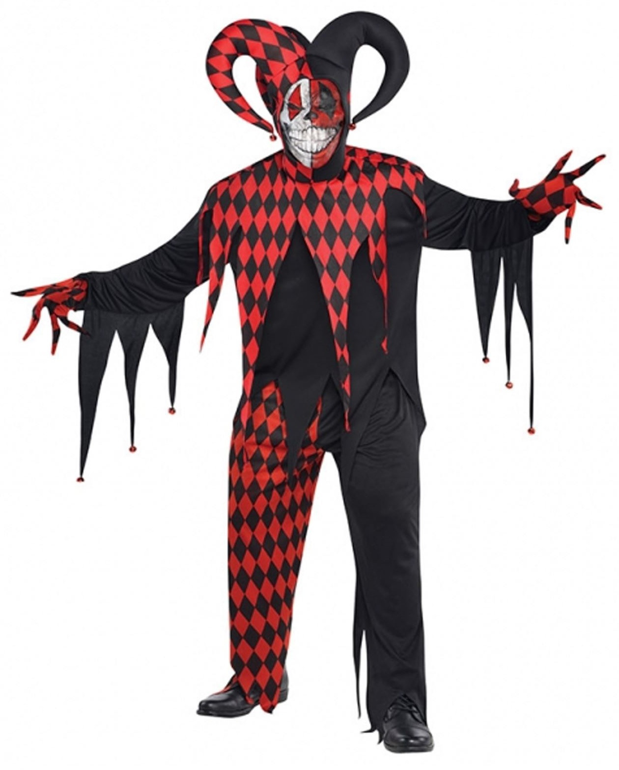 Party Centre - Adult Krazed Jester Halloween Costume  sc 1 st  Mumzworld & Adult Krazed Jester Halloween Costume
