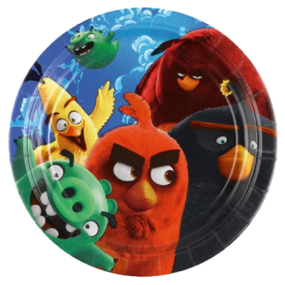 sc 1 st  Mumzworld & Amscan - Angry Birds Movie Paper Plates 7