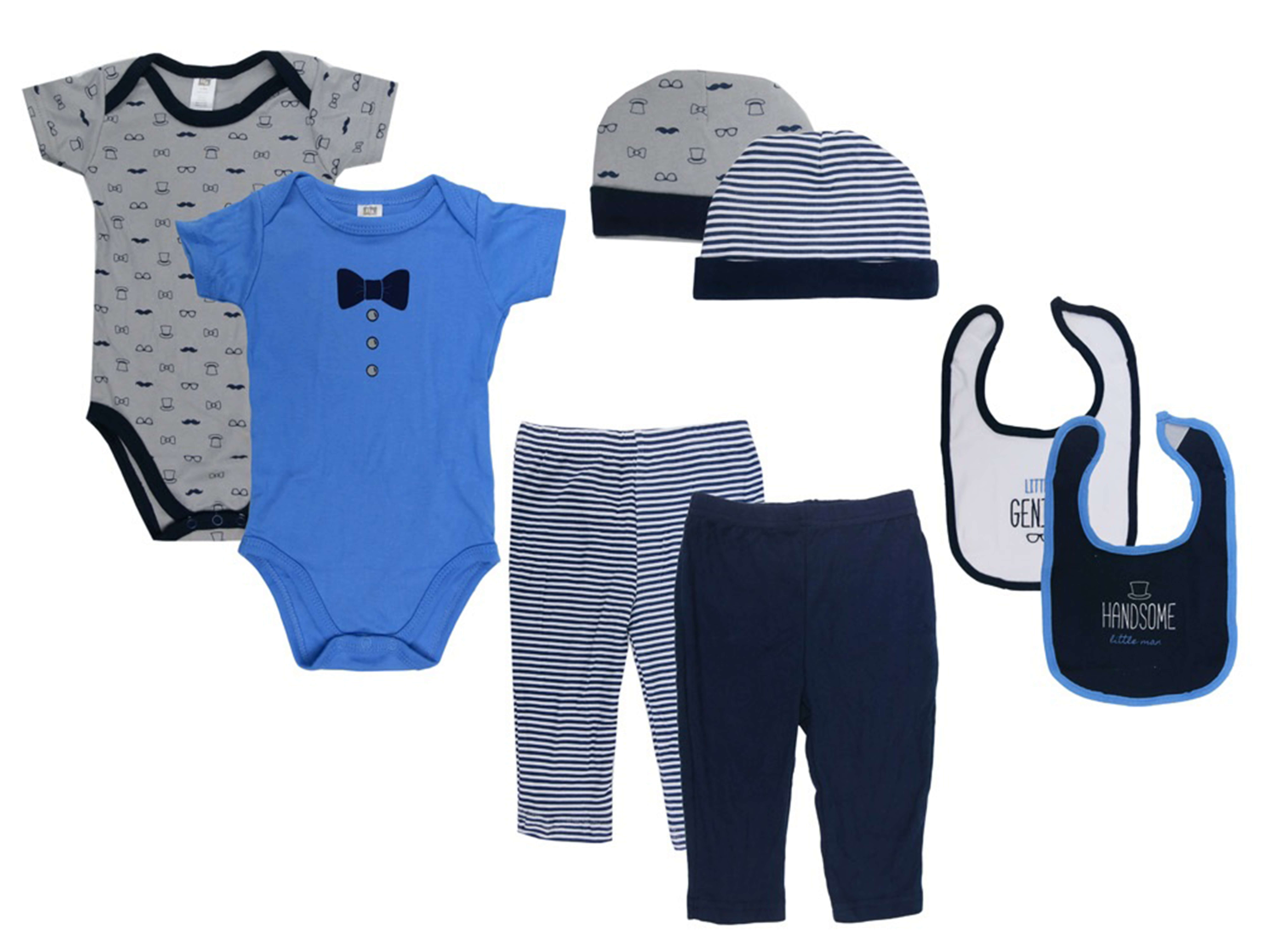 Baby Grow With Me Clothing Gift Set Handsome
