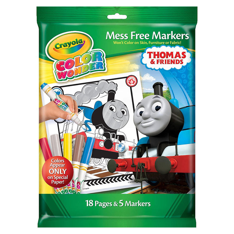 Color Wonder Coloring Pad&Markers-Thomas & Friends