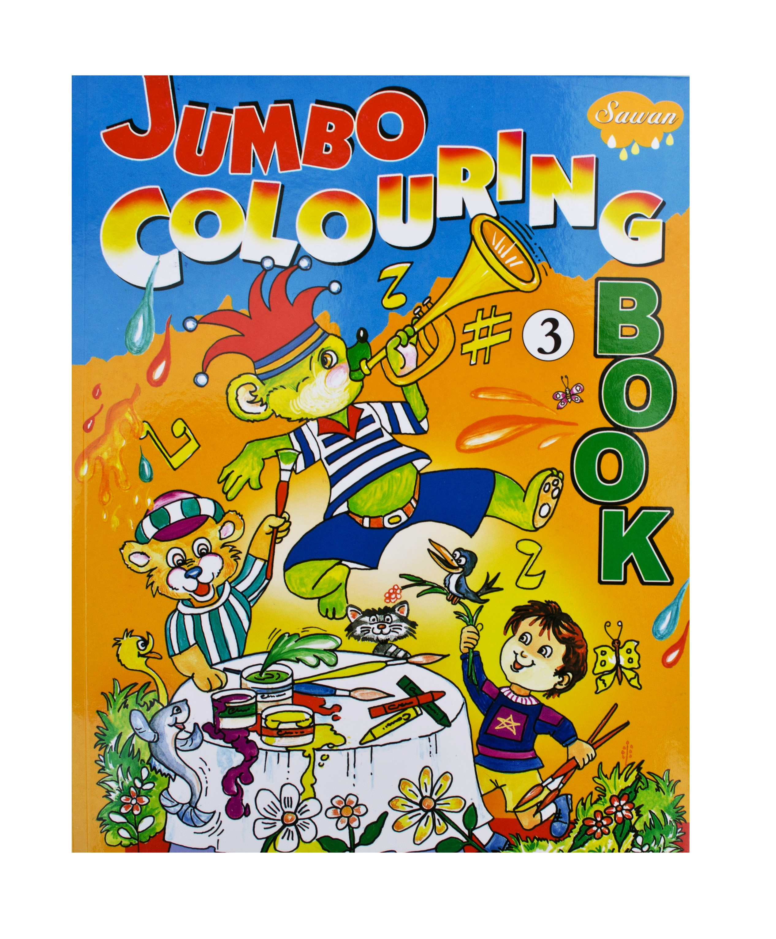 Jumbo Colouring Book 3