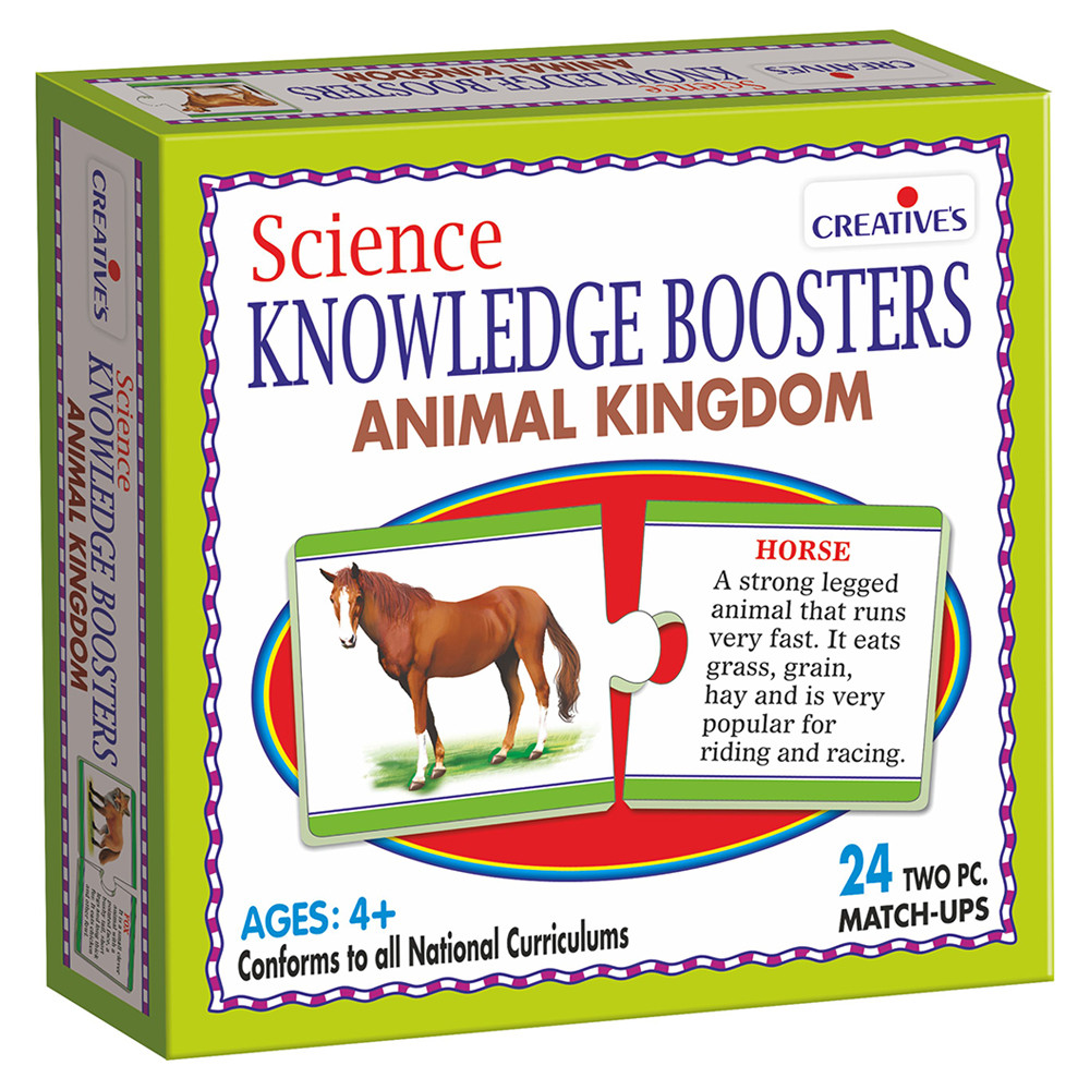 Image of: Natural Science Mumzworld Smart Science Knowledge Boosters Animal Kingdom