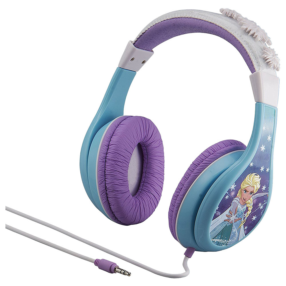 iHome - Over-Ear Headphone Vol Ltd w/ 3 Settings - Frozen