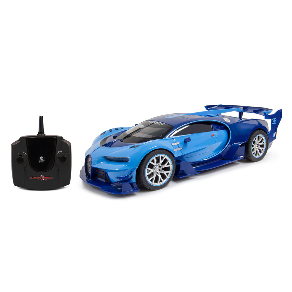 KidzTech - 1:16 Bugatti Vision Gt Rechargeable - Blue on mitsubishi gt vision, subaru viziv gt vision, renault alpine gt vision, bmw gt vision,