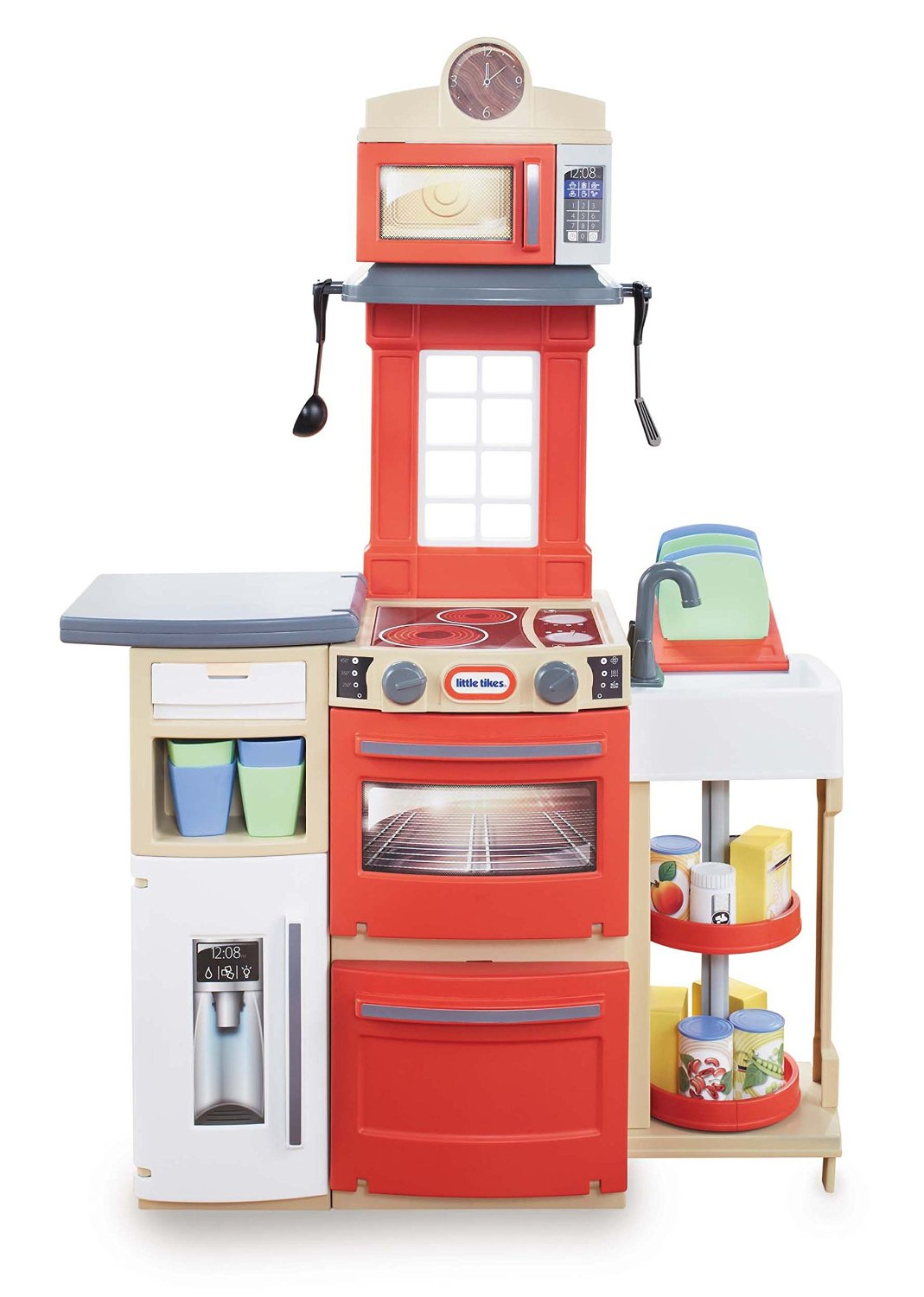 Little Tikes Cook N Store Kitchen-Red