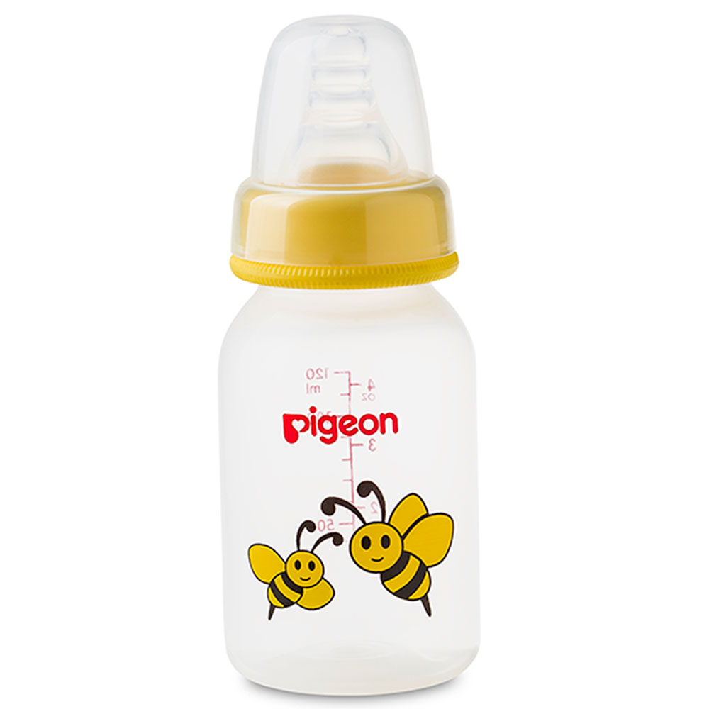 بيجون زجاجة حليب للأطفال 120 مل - اخضر