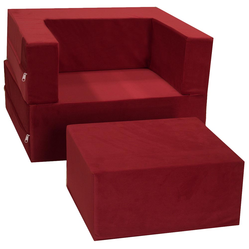 Chair Ottoman Fold Out Lounger