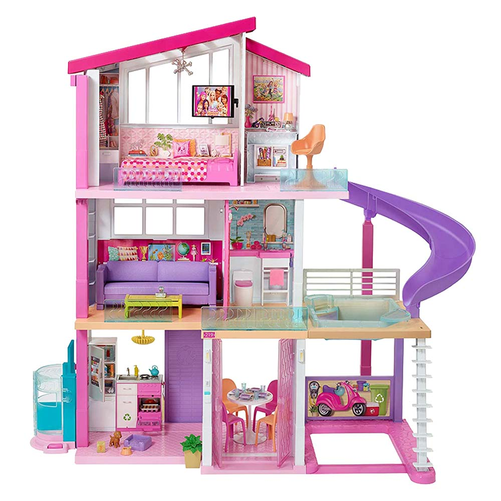 Barbie Houses Dreamhouse Dolls Accessories Toys