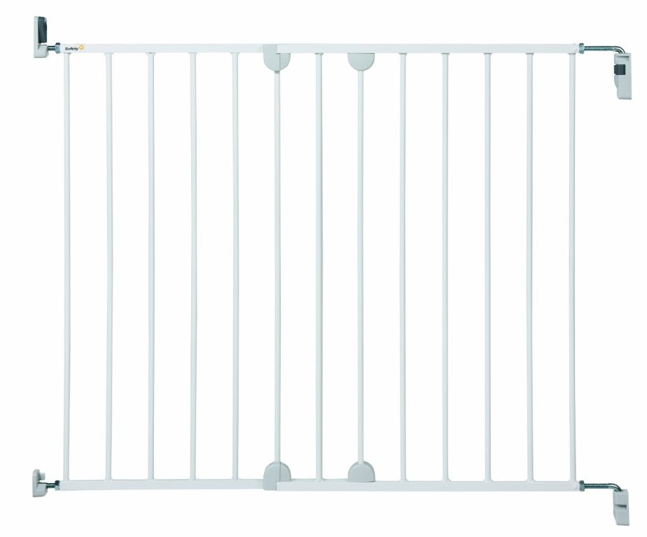 Safety 1st Wall Fix Extending Metal Door Gate White