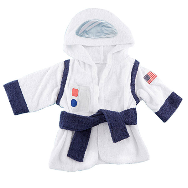 5bf5f3fe20 Baby Aspen - Cosmo Tot Astronaut Hooded Spa Robe