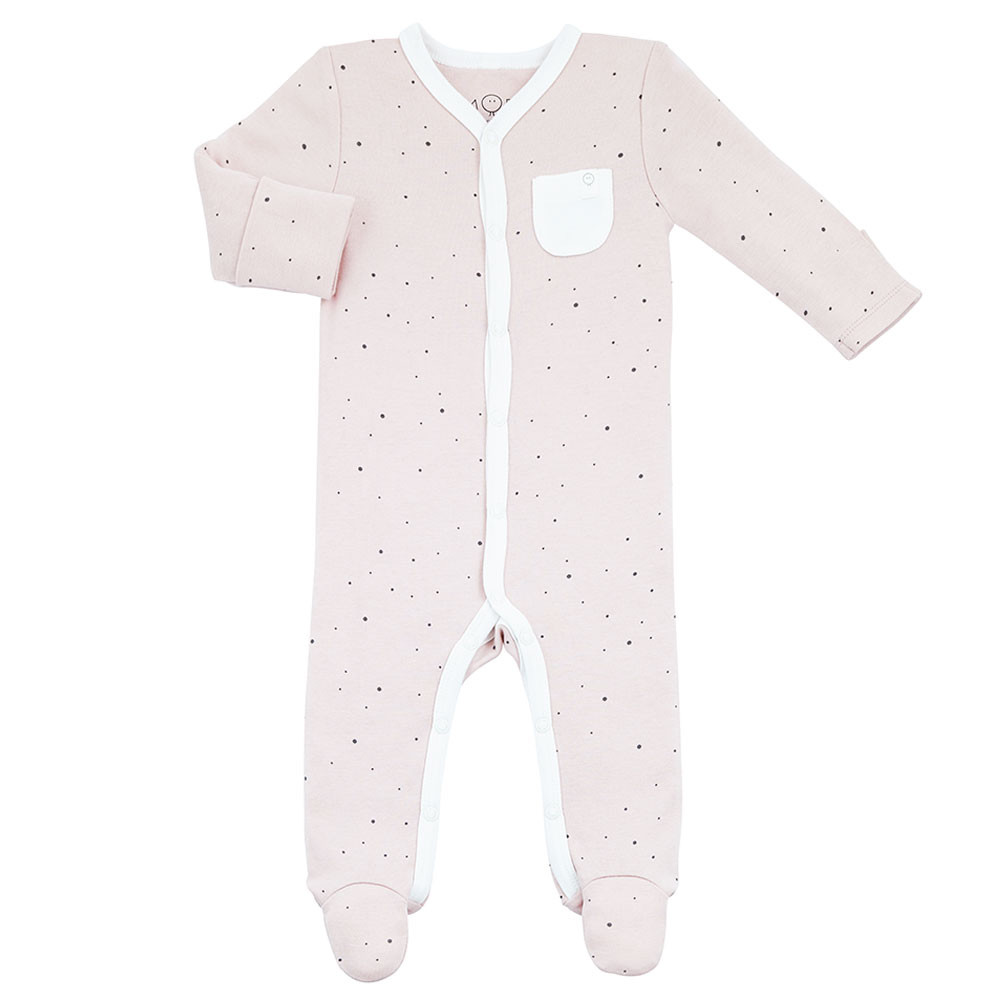 feb7f827a334 Mori - Front-Opening Sleepsuit - Stardust