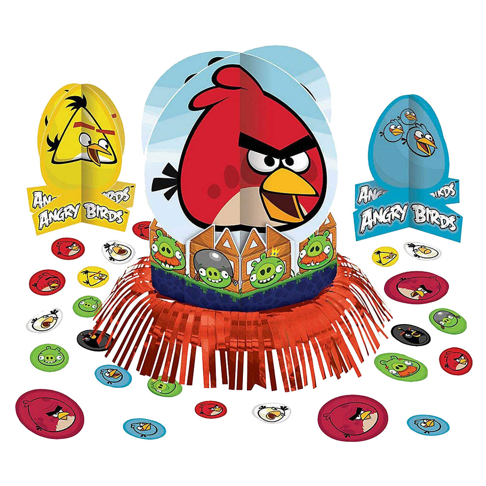 Amscan Angry Birds Table Decorating Kit 23pcs