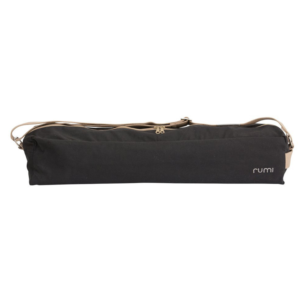 5efc66eda9d6b Rumi - Cotton Yoga Bag - Graphite