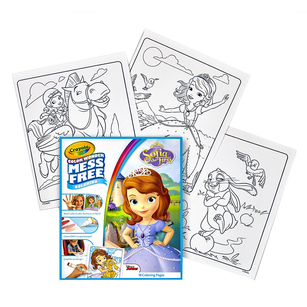 Crayola Sofia Color Wonder Coloring Pad