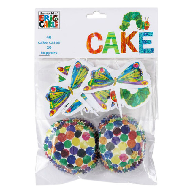 Talking Tables Hungry Caterpillar Cake Cups And Toppers