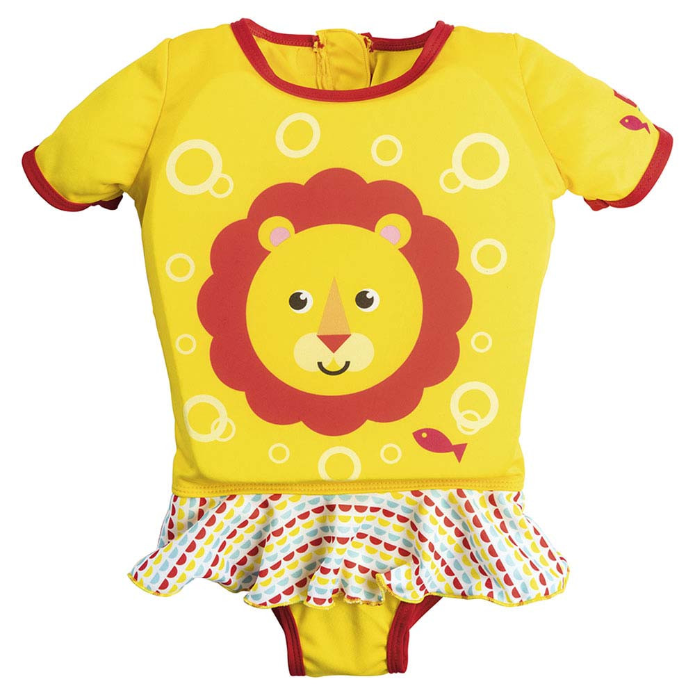 d0875607295eb Bestway - Fisher-Price Girls Float Suit - Yellow