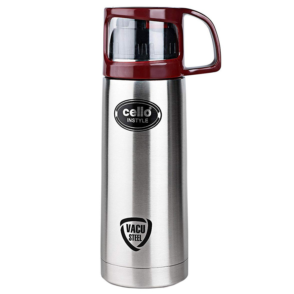 1dd020f0b Cello - Instyle Stainless Steel Flask 1L - Silver