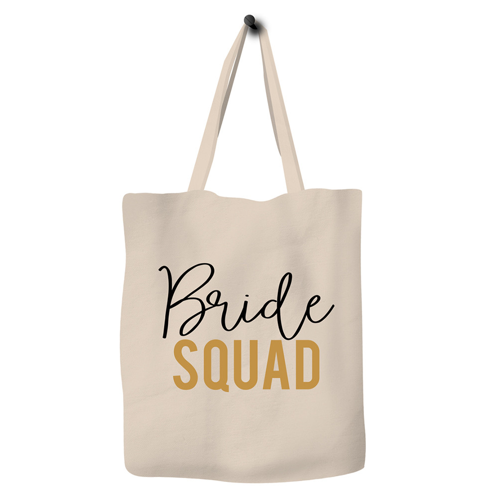 Save The Ocean - Eco Bag Zero Waste Durable Canvas Tote Bag - Bride Squad a79d9f6ae9aa3