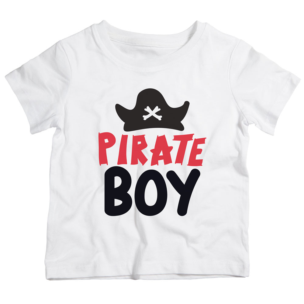 4658fb5f5 Twinkle Hands - Pirate Boy T-Shirt - White