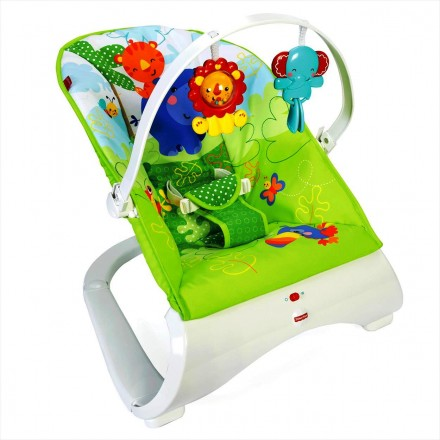 b69c9bb27dd0 Fisher-Price - Woodland Friends SpaceSaver Jumperoo