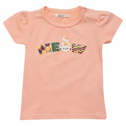 27e3cdc6a Adam Kids - Meow Graphic T-Shirt - Lemon Meringue