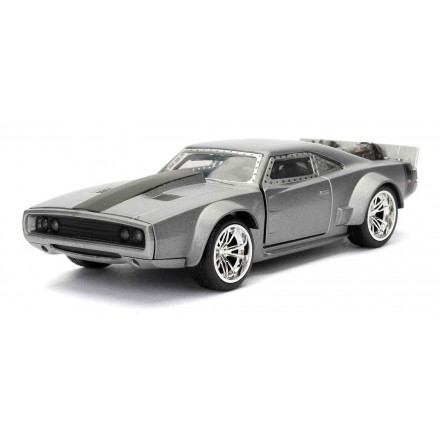Jada - Diecast Fast & Furious 8 Dom's Ice Charger 1:24