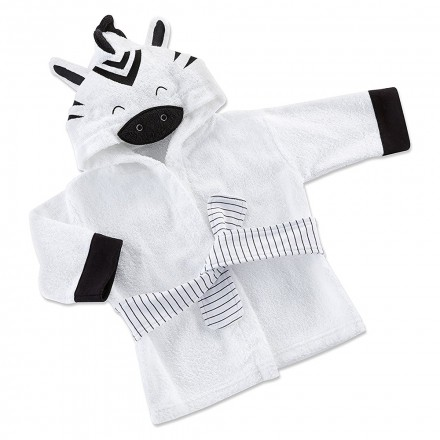 f8bb4b60ec69 Baby Aspen - Love Ewe Lamb Hooded Spa Robe - White