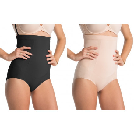 3a3fc2d3e62a6 Spanx - OnCore High-Waisted Brief In 2 Colours, Nude & Black