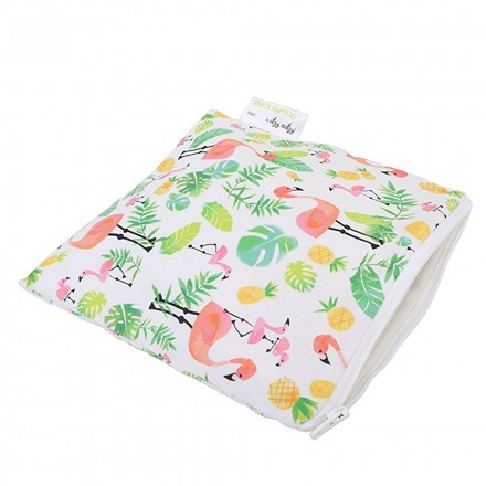 Xoxo Itzy Ritzy IR-SWB8210 Snack Happens Reusable Snack and Everything Bag