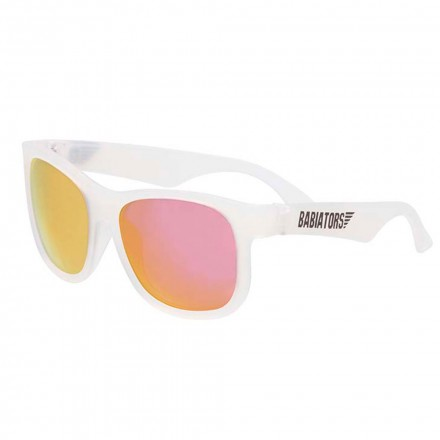 babiators aces navigator wicked white with green lenses