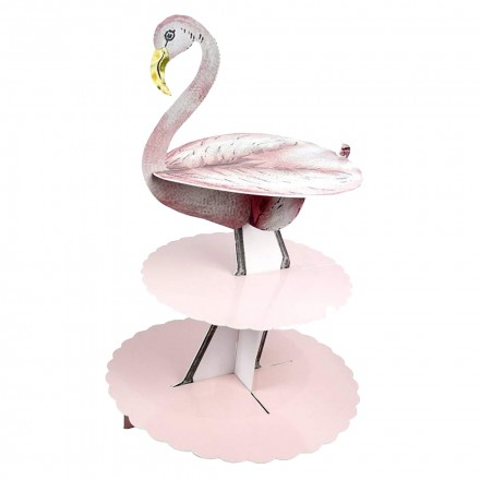 677943be55511 Talking Tables - Truly Flamingo Treat Stand - Pink