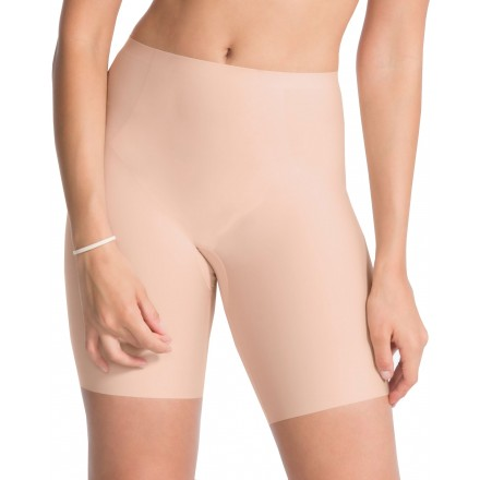 92eefef74dcc1 Spanx - OnCore Mid-Thigh Bodysuit In 2 Colours, Nude & Black