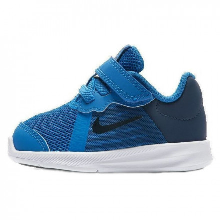 e4918ddd92 NIKE - Downshifter 8 Toddler Velcro Shoes - Blue