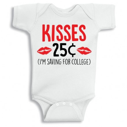 5bf784623 Twinkle Hands - Saving For College Baby Girl Baby Onesie