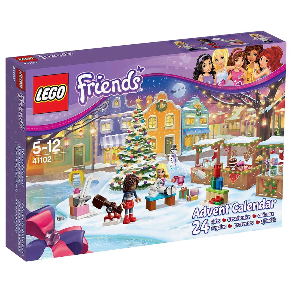 Lego Friends Christmas Sets.Lego Friends Christmas Advent Calendar