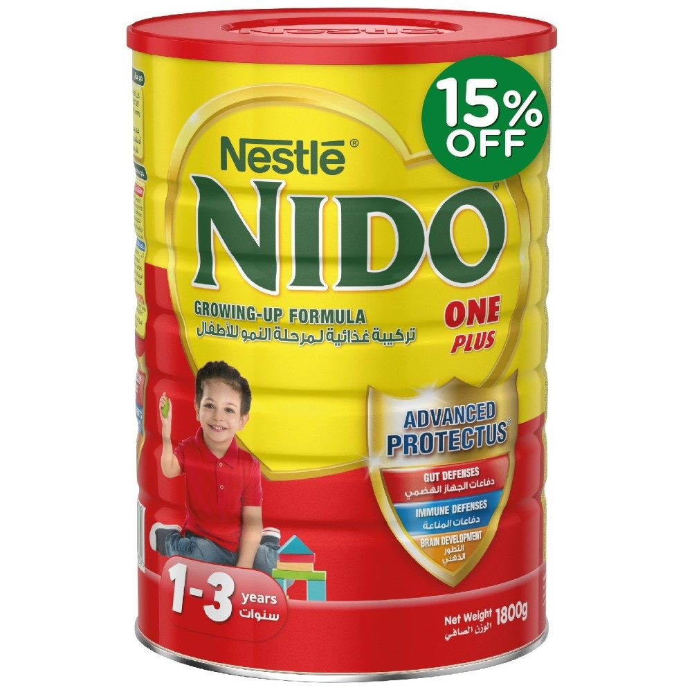 Nestle NIDO FortiProtect One Plus Growing Up Milk 1800g at 15% Off
