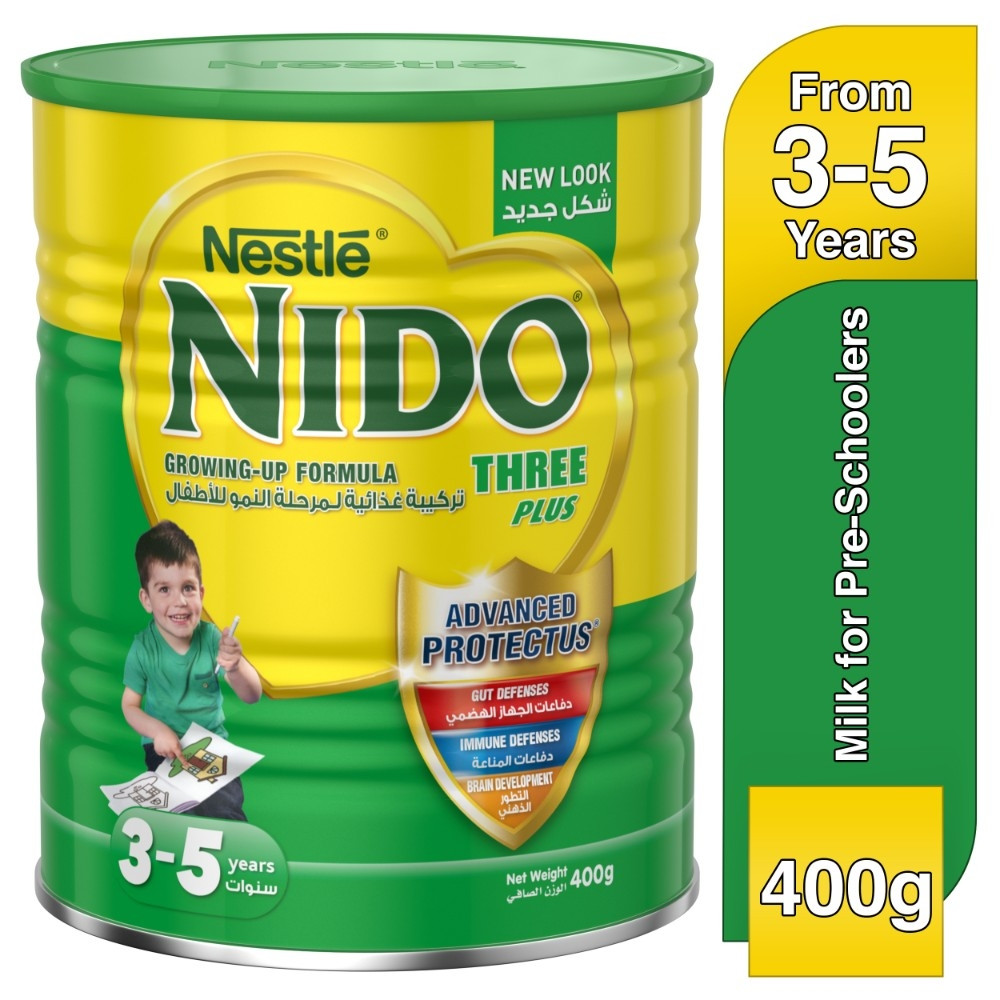 Nestle NIDO FortiProtect Three Plus Growing Up Milk 400g