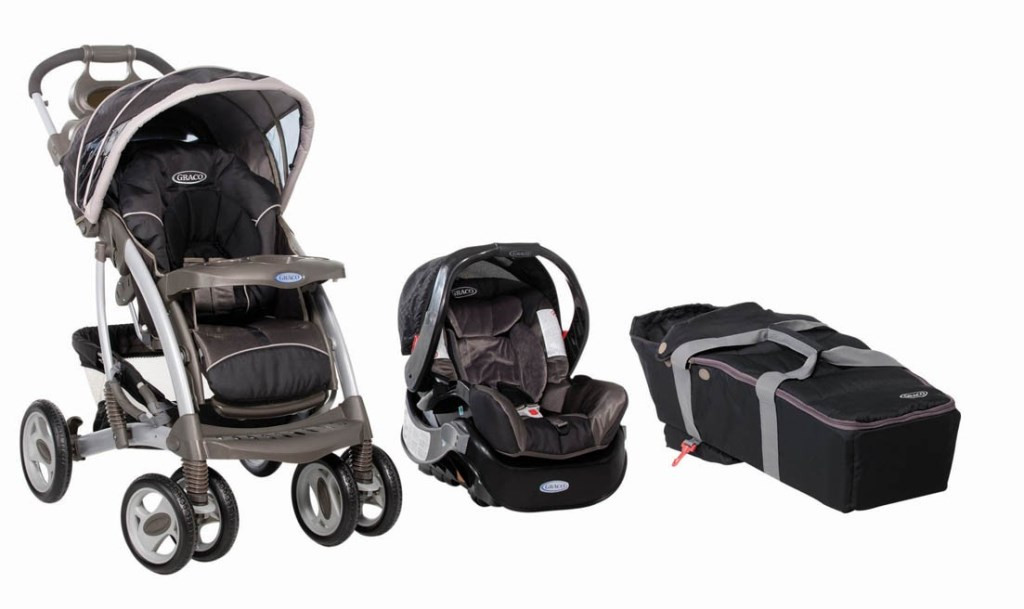 Graco Quattro Tour Deluxe Travel System Flint