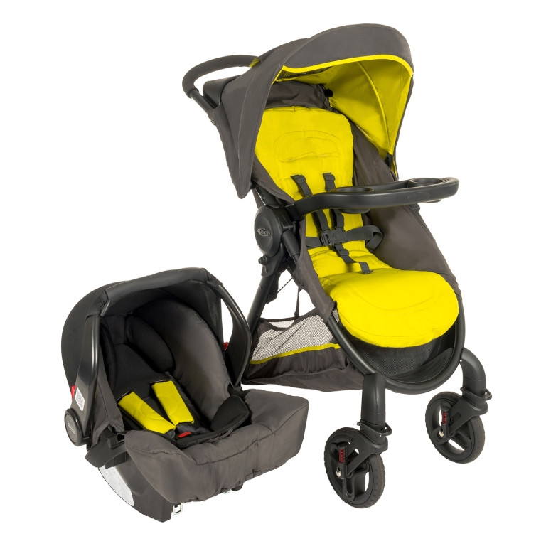 Graco Fastaction Fold 2 0 Travel System Sport Lime