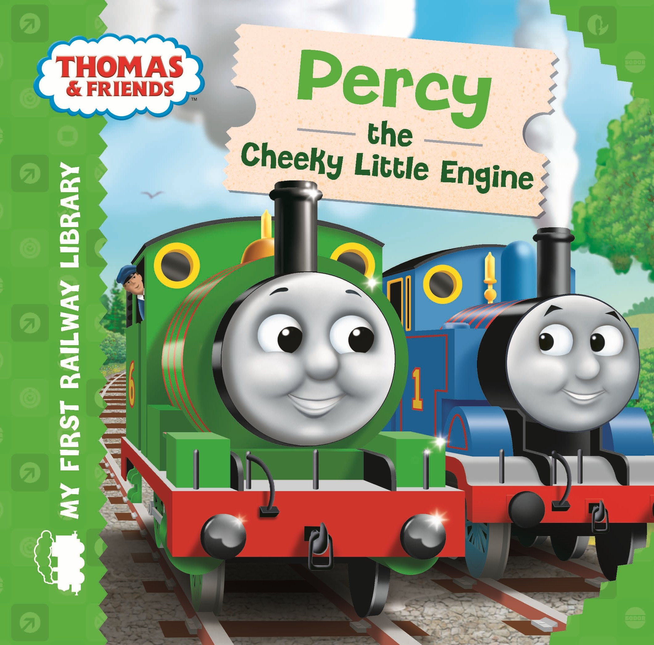 Thomas Friends Percy The Cheeky Little Engine